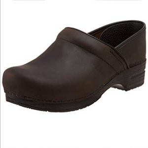 NEW Dansko Professional Leather Clog $125-Size 38